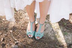 blue #wedding shoes   White Rabbit Studios