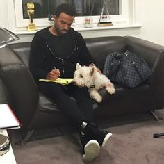 Pin for Later: These Hot British Guys Look Even Cuter With Their Furry Friends Craig David Craig David, British Guys, Popsugar, Friends, Celebrities, Hot, Artists, Amigos, British Boys