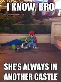 Las Vegas is the only place where you'll see Mario and Luigi in their natural element. Mario Brothers, Mario Bros, Bros Brothers, Funny Images, Funny Photos, Funniest Pictures, Random Pictures, Funniest Gifs, Hilarious Pictures