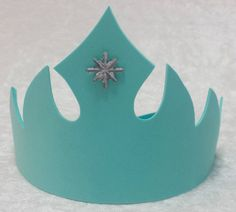 PARTY PACK Frozen Elsa Snowflake Tiara by TeatotsPartyPlanning