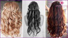 Ursprüngliche Hochzeit Frisuren für lange, mittlere und kurze Haare - Ideen mit…