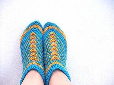 Free Pattern: Nelly's Bosnian slippers by NelllyThorsnes