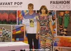 spring summer 2015 fashion trend forecast featuring Avant Pop as seen on The Key To Chic
