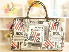 >>>>15%OFF>>>>15%OFF>>>Flag Retro Vintage Style Women Handbag Tote by MrCatBoutik on Etsy,>>>>15%OFF>>>>15%OFF
