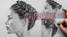 Image result for hair drawing step by step