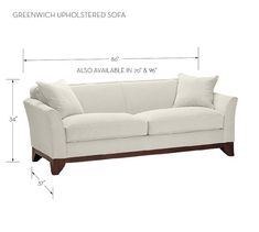 Greenwich Upholstered Sofa #potterybarn