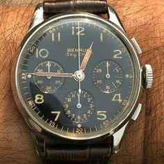 Vintage Watches For Men, Vintage Rolex, Elegant Watches, Beautiful Watches, Gents Watches, Cool Watches, Gents Fashion, Automatic Watch, Luxury Watches