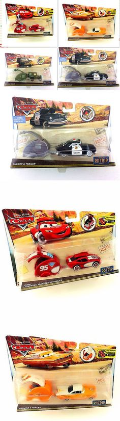 Diecast Toy Vehicles 51023: Mattel Disney Pixar Cars Rd Trip Mcqueen Sheriff Sarge Ramone And Trailer Boxed -> BUY IT NOW ONLY: $34.99 on eBay!