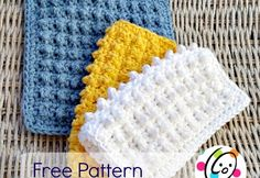 dishcloth free crochet pattern