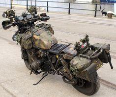 Whaddya know, a pretty good looking survival bike.