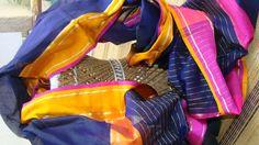 Chanderi Silk Hand Woven