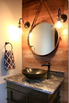 My New Bathroom Mirrors Bought In Canton April 2012