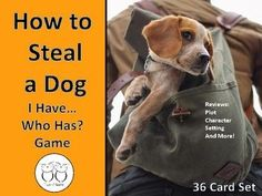 Super fun way to review the novel How to Steal a Dog with this 36 card set. Questions include characters, plot and more. I time my class when we play and we try to beat our previous time. Other times, I use the cards as an exit ticket. Follow us for