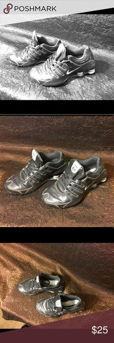 Black Nike Shox Women's shoes 7.5 Black women's Nike shox Nike Shoes Athletic Shoes