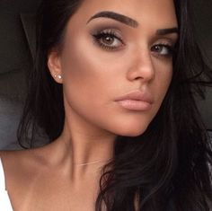 40 Pretty and Natural MakeUp for Brown Eye Women