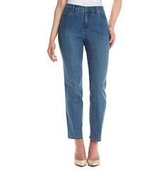 Gloria Vanderbilt® Petites' Amanda Basic Denim Jeans