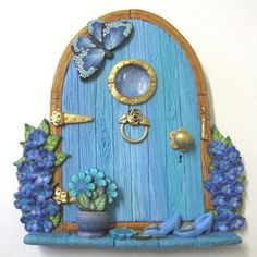 Fairy Door  -  (Montie & Keira have one each of these, not exactly the same, but it is a cute idea)
