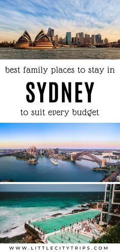 Planning a trip to Sydney? Where do you find the best family-friendly hotels & accommodation in Sydney? An area guide plus our hand-picked favourites to suit every budget Toddler Plane Travel, Travel With Kids, Family Travel, Visit Australia, Australia Travel, New Zealand Hotels, Sydney Beaches, Best Cities, Places Around The World