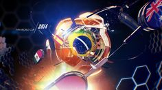 WORDL CUP 2014 PROGRAMS PACKAGE on Behance
