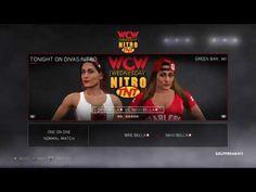 WWE2K17-DIVAS-UNIVERSE MODE-DIVAS NITRO.