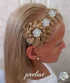 Haarschmuck-Kopfschmuck-4-Curlies-Haarspangen-z-Kommunionkleid-Komminionskleid