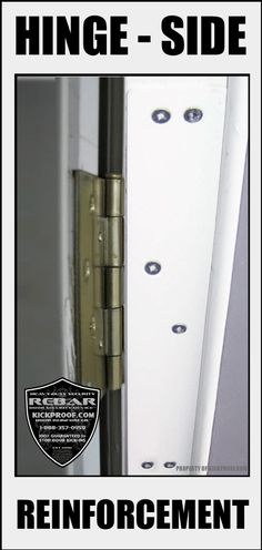 Buy 2 Get 1 Free Rebar Door Jamb Reinforcement Kit Stop