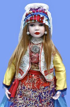 Persian dolls iranian dolls httpsfacebookyolislls quashquaii porcelain doll her name is delbar she is 27 tall for porcelain dollkurdistantraditional clothesiranianpersiantraditional publicscrutiny Image collections