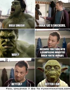 Eat a Snickers, Hulk
