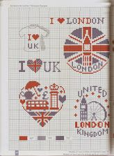 London's cross stitch
