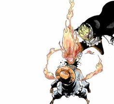 Image de anime, boys, and fight Comic Manga, Anime Comics, Manga Anime, Anime Art, Anime Boys, One Piece Luffy, One Piece Anime, Anime Tattoos, Ship Art