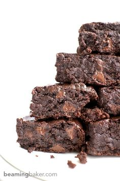 Best Vegan Brownies - Beaming Baker