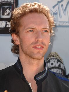 Chris Martin, lead singer from Coldplay.
