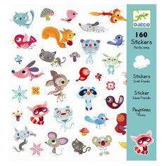 Stickers Petits amis, Djeco - Avenue Des Jeux