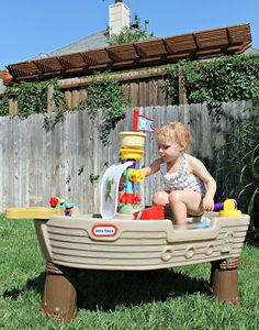 Little Tikes Play Pirate Ship
