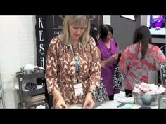 How to sew the Moda Honeycomb Pre-Cut - Lissa Alexander at 2013 QuiltCon