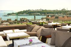 We stayed at the The Georges Hotel, Istanbul. Fabulous experience!