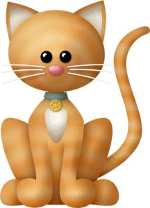 """Photo from album """"Fur Babies Cats"""" on Yandex. Cute Animal Clipart, Cute Clipart, I Love Cats, Cool Cats, Kitten Images, Scrap Material, Kids Stickers, Cat Paws, Elements Of Art"""