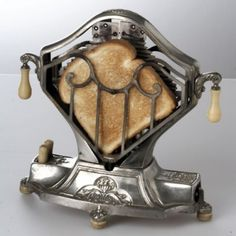 Well, it was creative back then in the 1920s .... Now it;s just a very beutiful Vintage Art Deco Toaster I would love to have...