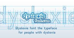 The Dyslexia font makes reading easy and enjoyable for people with dyslexia. Scientifically proven to improve pace of reading with fewer errors.