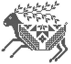 Gallery.ru / Фото #38 - 12 - unito Cross Stitch Charts, Cross Stitch Embroidery, Embroidery Patterns, Cross Stitch Patterns, Bead Loom Designs, Charts And Graphs, Theme Noel, Crochet Cross, Cross Stitch Animals