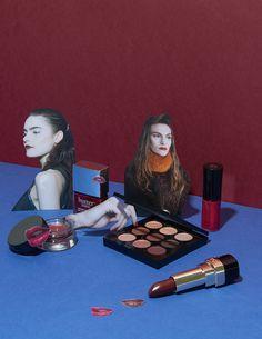 Elle UK Beauty Still Life. - David Abrahams Creative still life photography makeup products