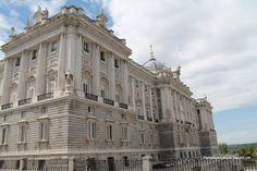 Exteriores del Palacio Real de Madrid