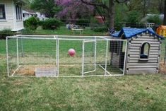 little tikes playhouse chicken coop - Google Search