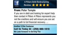 If you are in debt and looking for expert help then contact 4 Pillars  4 Pillars...