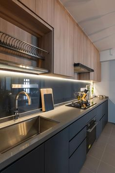 Modern Kitchen Interiors, Luxury Kitchen Design, Kitchen Room Design, Home Decor Kitchen, Interior Design Kitchen, Kitchen Furniture, Home Kitchens, Furniture Design, Funky Furniture