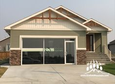 2017 CHBA-Lethbridge Region Parade of Homes - Ready Stack (Color: Chardonnay) Parade Of Homes, Home Builders, Home Remodeling, Mountain, Stone, Outdoor Decor, Color, Home Decor, Rock