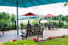Terrasse Hôtel Trois Tilleuls Spa, Outdoor Decor, Home Decor, Finnish Sauna, Lime Trees, Cookout Restaurant, Patio Ideas, Decoration Home, Room Decor