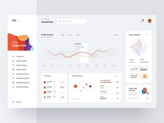 RL - Dashboard Interface by Logan Cee on Dribbble Dashboard Interface, Web Dashboard, Dashboard Design, Ui Web, App Ui Design, User Interface Design, Dashboard Mobile, Responsive Web, Wireframe Design