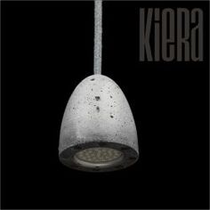 Lampa na oprawka beton architektoniczny - kiera.pl