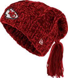 Kansas City Chiefs Women's New Era Winter Slouch Knit Hat $24.99 http://shop.kcchiefs.com/Kansas-City-Chiefs-Womens-New-Era-Winter-Slouch-Knit-Hat-_-337026098_PD.html?social=pinterest_pfid22-46520